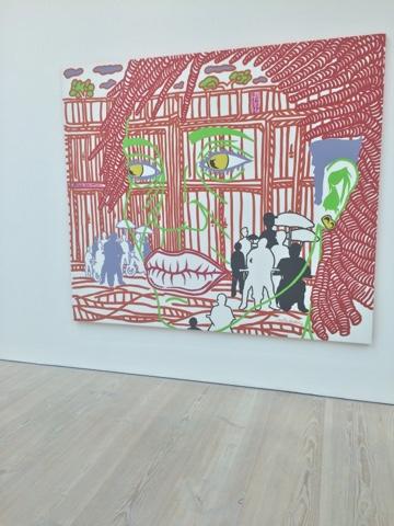 Boris Nzebo at the Saatchi Gallery