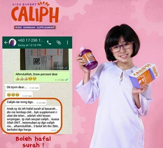 caliph testimoni