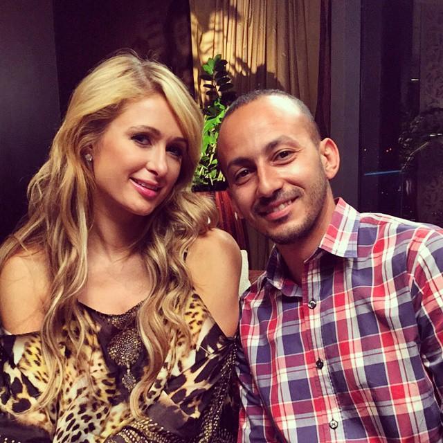 Egyptian Tv Show Host Ramez Galal Pranks Paris Hilton in Dubai