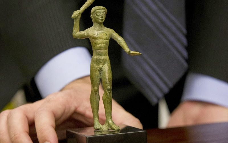 Italy: Etruscan bronze, Tiepolo painting returned to Italy