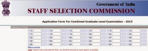 What is the SSC CGL post preference for female candidates,SSC CGL post preference guide,SSC CGL post preference analysis