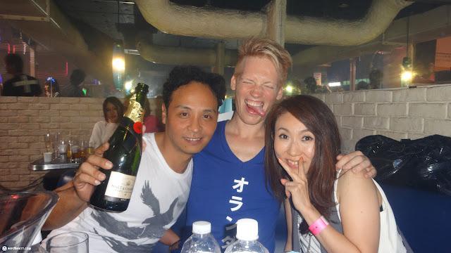 Katsuyoshi & Matt at Agefarre 2015 in Tokyo, Tokyo, Japan