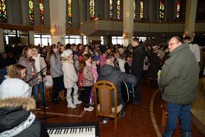 Msza św. z udziałem dzieci