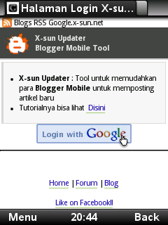 Cara Posting Blogspot via Handphone dengan Label