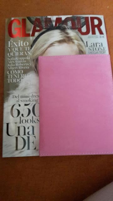 Regalo revista Glamour Diciembre 2015