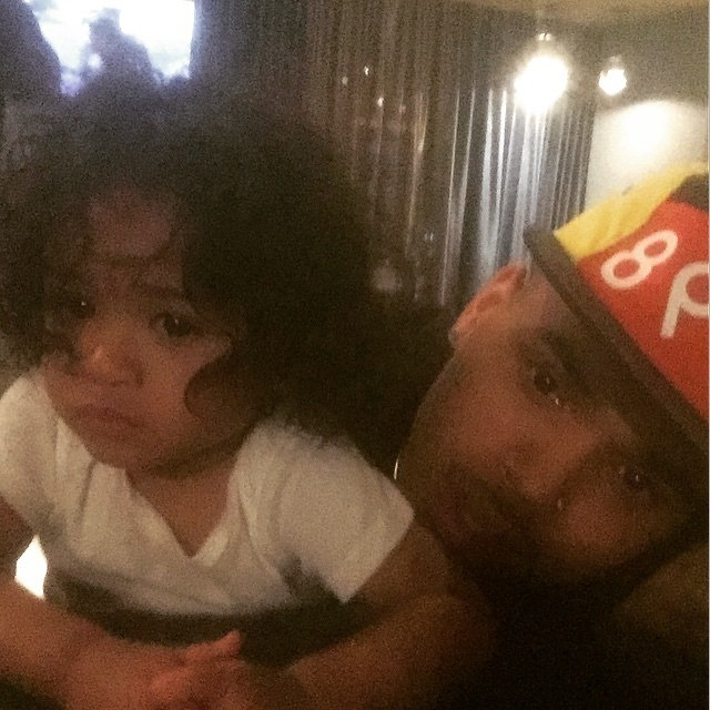 Chris Brown With Royalty