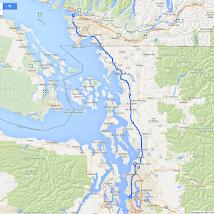 20 Roadtrip West VS en Canada 2014, Vancouver naar Seattle.png