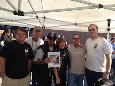 L. to R. Jack Smith, Brian Logan, Dennis Martinez, Di Dootson, Brad Logan & Jim Muir