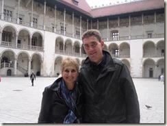 Wawel, Kathedrale, Abschiedsessen in Krakau 008