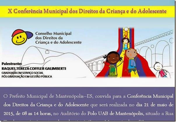 conferencia dos direitos da criança e adolescente