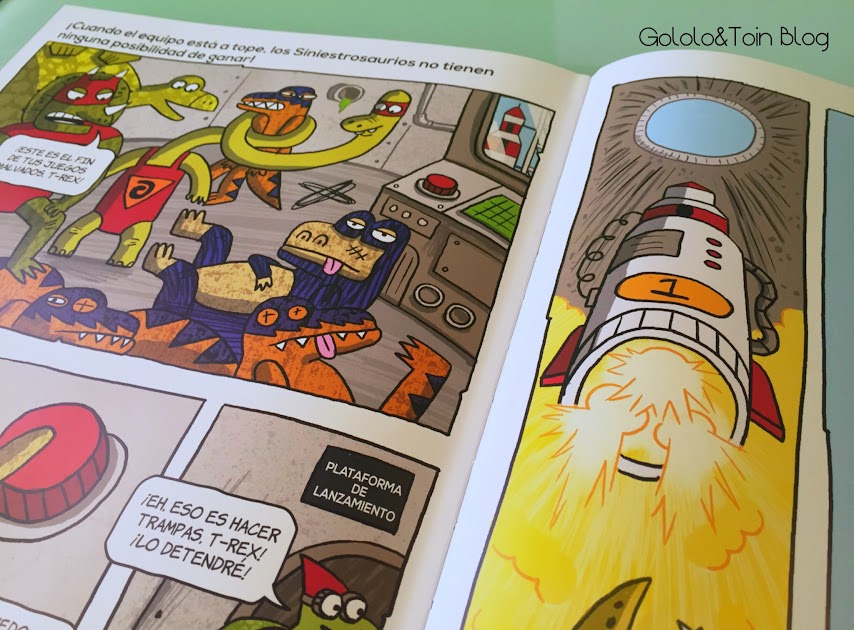 comic-niños-terror-supersaurios-prelectores