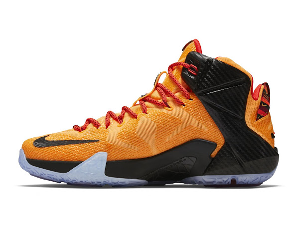 Official Look at Upcoming 8220CLE8221  Carbon Fiber Nike LeBron 12