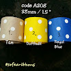 code A208 size 38 mm @ 1.5 inch rm 2.60 (each meter) color code : 1-3