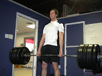 Ted deadlifting... love it when the bar bends!