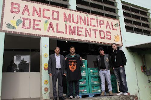 Águias Moto Clube retorna ao Banco de Alimentos com doações