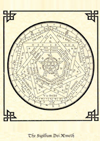 Cover of John Dee's Book Sigillum Dei Aemeth or Seal of the Truth of God English Version