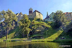 Hrad byl na tomto místě postaven zřejmě již v 11. století. Hrad byl založený Přemyslovci a rozšířený zvláště Václavem IV. Hrad měl za úkol chránit důležitou obchodní cestu vedoucí z Chebu a Kraslic do Prahy.