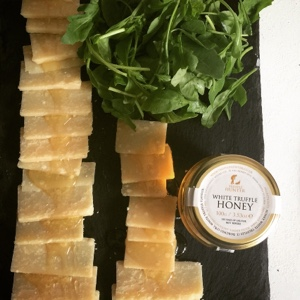 parmesan and white truffle honey