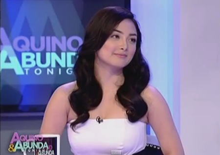 Meg Imperial in Aquino & Abunda Tonight