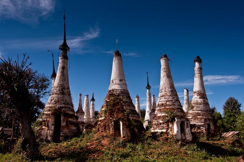 nyaung-ohak-pagodas