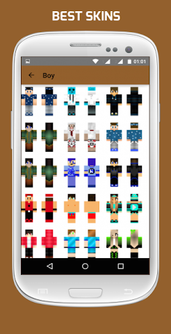 android Girl & Boy Skins for Minecraft Screenshot 3