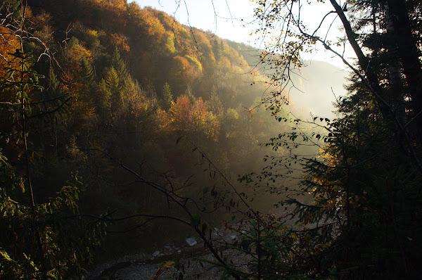 карпаты осень утро октябрь