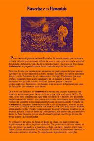 Cover of Carlos Bernardo Loureiro's Book Paracelso e os Elementais (in Portuguese)