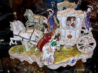 Большая фигурная композиция. Германия 19-й век. 58/30/35 см. 3900 евро.