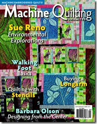 Machine Quilting Unlimited Sept-Oct 2015 cover