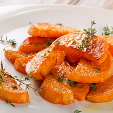 Carrots with an Orange and Ginger Glaze