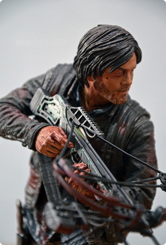 #twd (11) The Walking Dead McFarlane Action Figure Deluxe Daryl Dixon