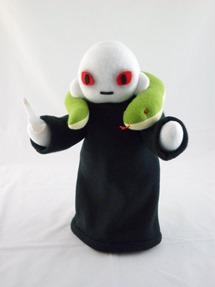 Cuddly Plush Evil Wizard by Handmade Stuffs