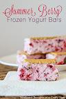 Summer Berry Frozen Yogurt Bars