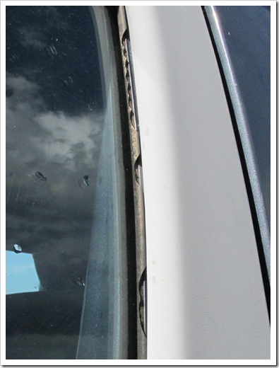 2015-07-02 Window Trim Hail Damage
