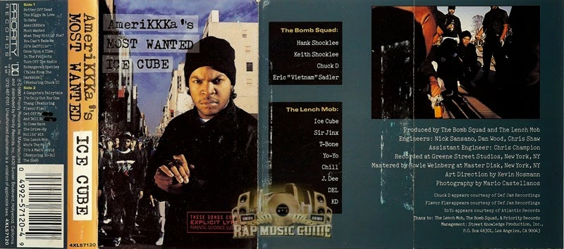 Ice Cube - Amerikkka's Most Wanted open