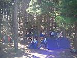 Vista de parte del Campamento