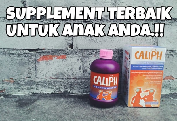 CALIPH-Supplement Sunnah Terbaik Untuk Anak Anda