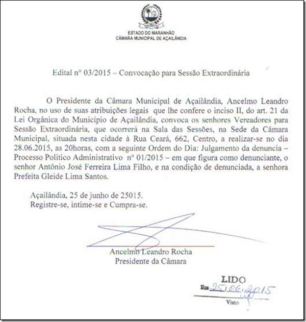 Edital de convocação Câmara de Açailândia_thumb[8]