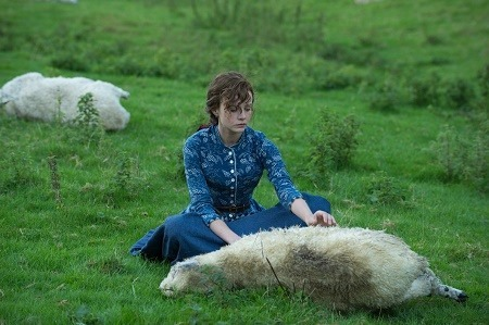 "Carey Mulligan as ""Bathsheba"" in FAR FROM THE MADDING CROWD. Photos by Alex Bailey.  © 2014 Twentieth Century Fox Film Corporation