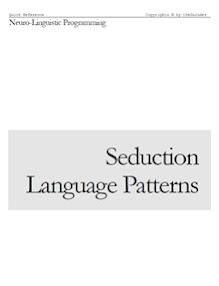 Cover of Thegurudev's Book Seduction Language Patterns