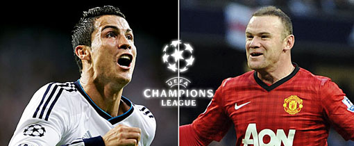 Real Madrid vs. Manchester United en Vivo - Champions