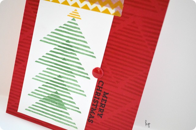Merry Christmas Tree Close Up