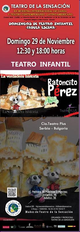 EL RATONCITO PEREZ-TEATRO PLUS