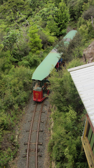 The Driving Creek Railway.