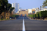 The Road To The Royal Palace - Rabat, Morocco