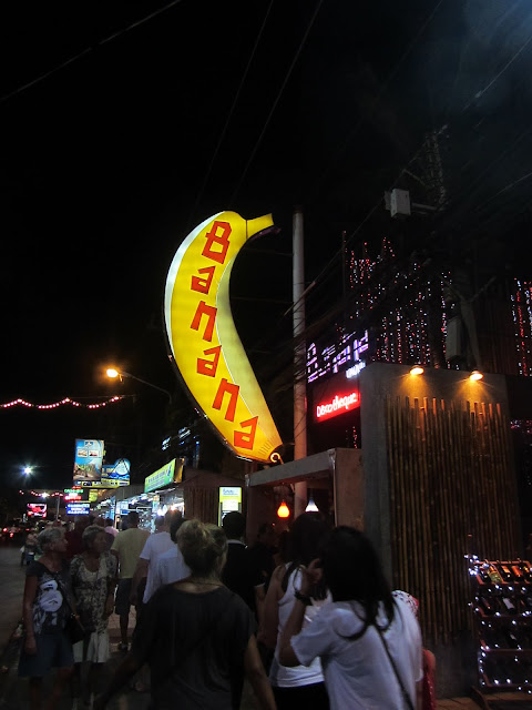 Bangla Road by night.