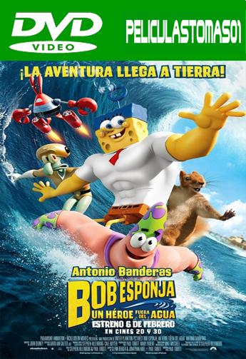 Bob Esponja: Un Héroe Fuera del Agua (2015) DVDRip