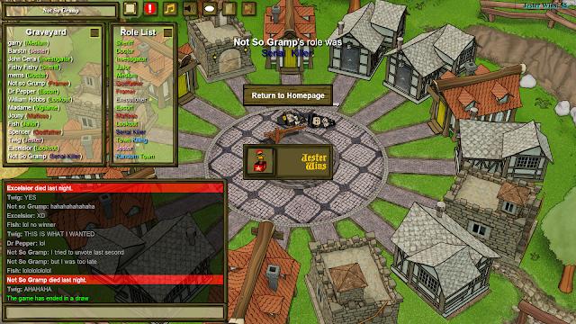 Town of Salem - Jester Wins