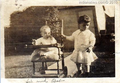 Weber, Sis and Bob, 1916