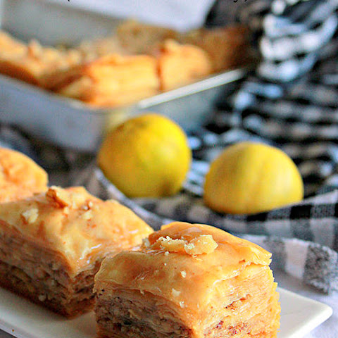 Baklava ( With Walnuts And Honey )